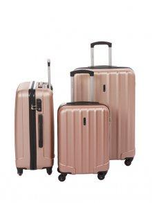 Lys Paris Set kufrů 151/3-ROSE GOLD\n\n