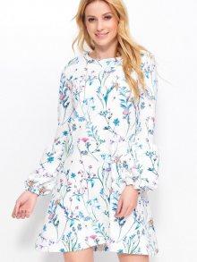 Makadamia Dámské šaty_white meadow\n\n