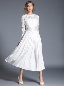 Kaimilan Dámské šaty QC480 White\n\n