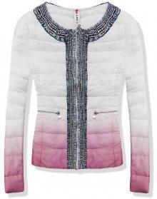 Růžová bunda 1601