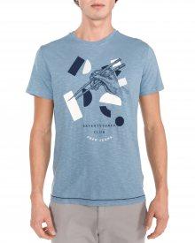 Clarendon Triko Pepe Jeans | Modrá | Pánské | S