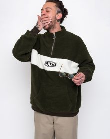Lazy Oaf Khaki Polar Fleece Multi S
