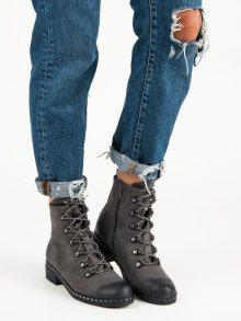 VINCEZA Dámské kotníkové boty HX19-16043G