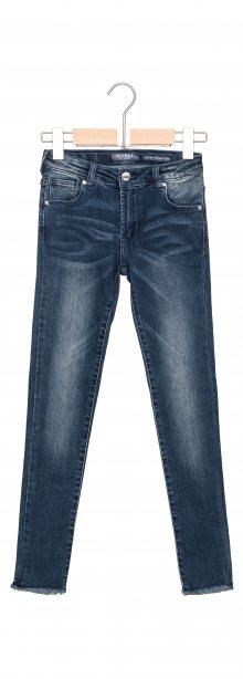 Jeans dětské Guess   Modrá   Dívčí   7 let