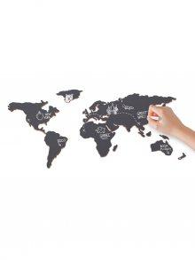 Luckies Nástěnná mapa s křídou - mapa světa\n\n