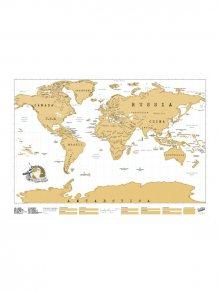 Luckies Stírací mapa světa - originál\n\n