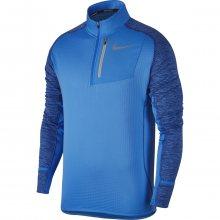 Nike M Thrma Sphr Elmnt Top Hz modrá XL