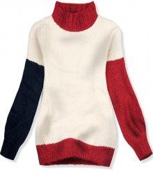 Béžový oversized pulovr