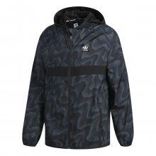 adidas Bb Warp Print Wind Jacket šedá L