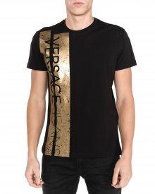 Triko Versace Jeans | Černá Zlatá | Pánské | M