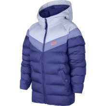 Nike B Nsw Jacket Filled fialová 146
