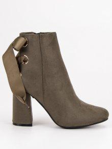 IDEAL Dámské kotníkové boty ES8521GR