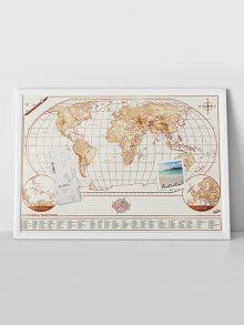 Luckies Magnetická mapa\n\n