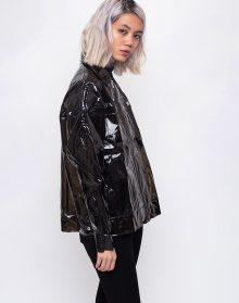 Rains LTD Boxy Jacket 91 Glossy Brown S/M