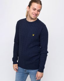 Lyle & Scott Cable Z56 Dark Navy Marl L