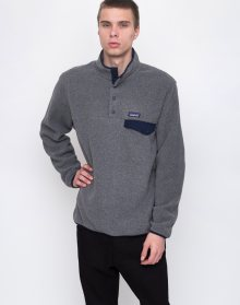 Patagonia Lightweight Synch Snap-T Nickel w/Navy Blue L