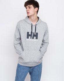Helly Hansen Logo Hoodie Grey Melange L