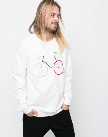 Dedicated Bike Embroidery Off-White XL