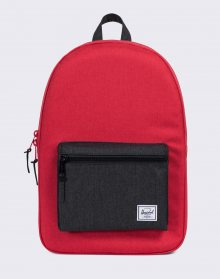 Herschel Supply Settlement Barbados Cherry Crosshatch/Black Crosshatch