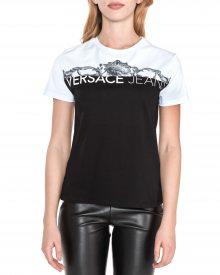 Triko Versace Jeans | Černá Bílá | Dámské | XS