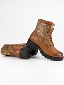IDEAL Dámské kotníkové boty 1621C