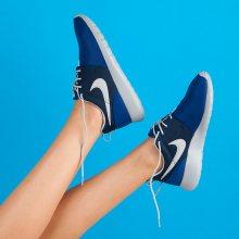 Klasické dámské sportovní modré tenisky Nike