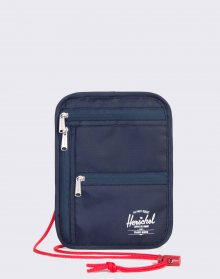 Herschel Supply Money Pouch Navy/Red