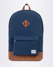 Herschel Supply Heritage Navy/Tan Synthetic Leather