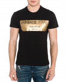 Triko Versace Jeans   Černá   Pánské   M