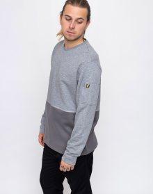 Lyle & Scott Fabric Mix T28 Mid Grey Marl L