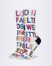 Stance Libertine Love Letters Multi S