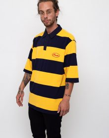 Lazy Oaf Stripy Cheese Yellow L