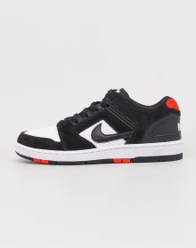 Nike SB Air Force II Low Black/ Black- White- Habanero Red 41