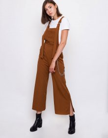 The Ragged Priest Strip Dungaree Tan / Pinstripe L