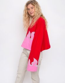 Lazy Oaf On Fire Red M/L
