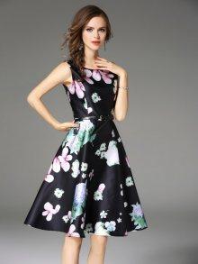 Kaimilan Dámské šaty QC609 Black\n\n