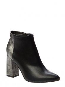 Betsy Dámské kotníkové boty 978011/05-02_black/dark silver\n\n
