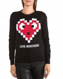 Svetr Love Moschino | Černá | Dámské | L
