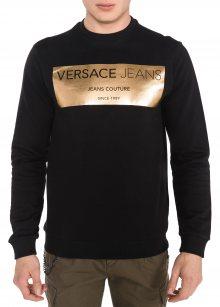 Mikina Versace Jeans   Černá   Pánské   M