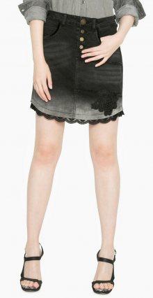 Desigual Dámská sukně 1065481_černá\n\n