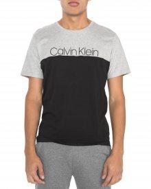 Triko Calvin Klein | Černá Šedá | Pánské | XL