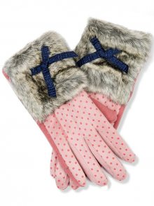 Růžové rukavice Glam