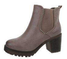 Dámské modní boty Chelsea
