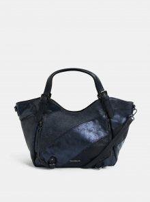 Tmavě modrá prošívaná kabelka Desigual Priya