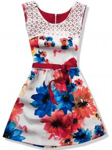 Květinové šaty 1155