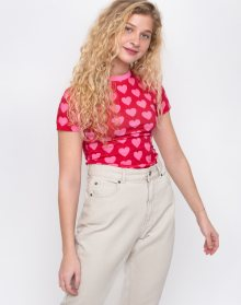 Lazy Oaf Heart Repeat Pink XS