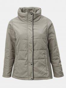 Béžová zimní bunda Zizzi