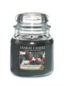 Yankee candle Svíčka ve skleněné dóze - Vánoční věnec, 410 g\n\n
