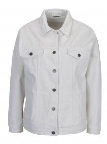 Bílá džínová bunda Noisy May Kell