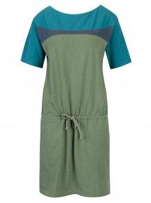 Tyrkysovo-zelené šaty Tranquillo Lana